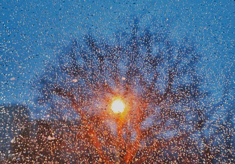 Monstrose sunset snow single frame HDR 8946