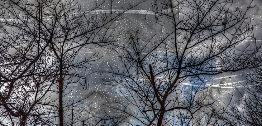 Three incongruous HDR photos merged by mistake into something mysterious